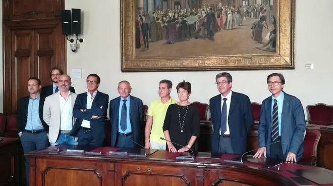 I firmatari del protocollo d'intesa per la ricerca e l'innovazione sul territorio piacentino