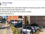 Il post di Roberto Reggi su Facebook