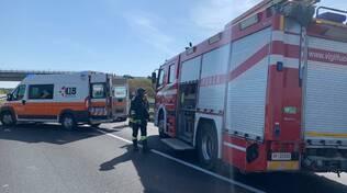 incidente a Fiorenzuola vigili del fuoco