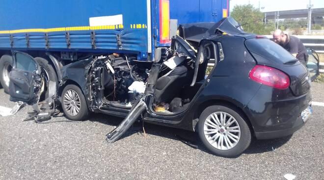 incidente sull'A1