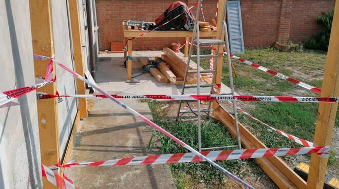L'abitazione di Massimo Sebastiani posta sotto sequestro