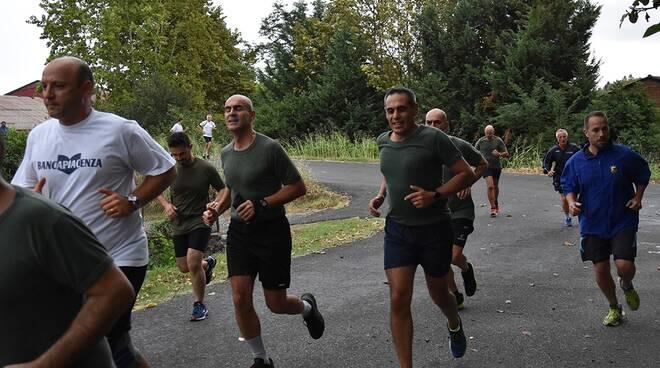 La corsa con l'esercito