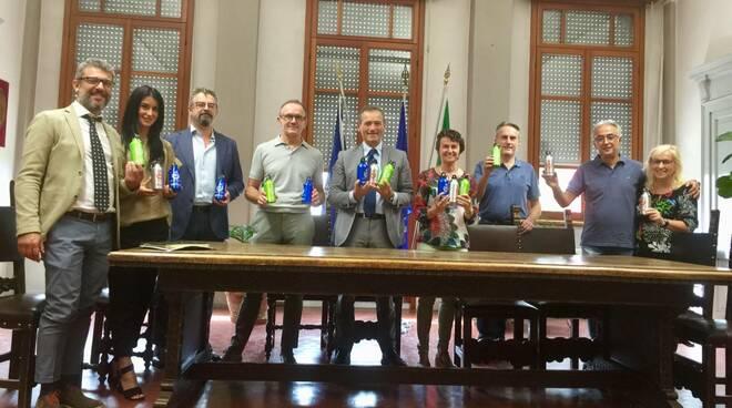 La presentazione del progetto plastic-free a Cadeo
