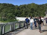 La visita alla diga del Molato