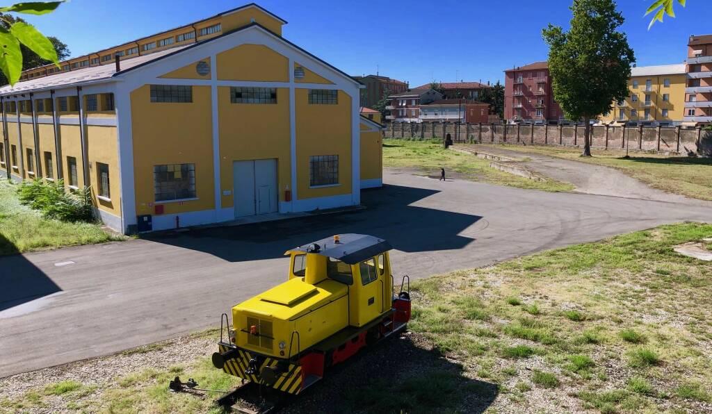 Locomotiva restaurata