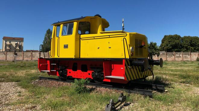 Locomotiva restaurata