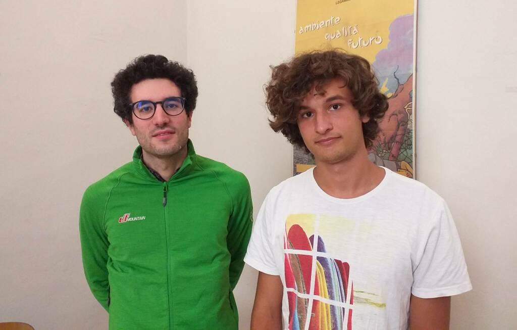 Luca Casana e Daniele Rossetti