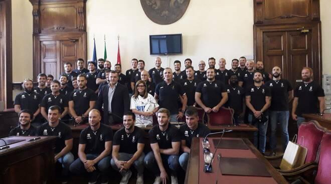 Sitav Rugby Lyons ricevuti in municipio