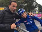 Sofia Collinelli con papà Andrea