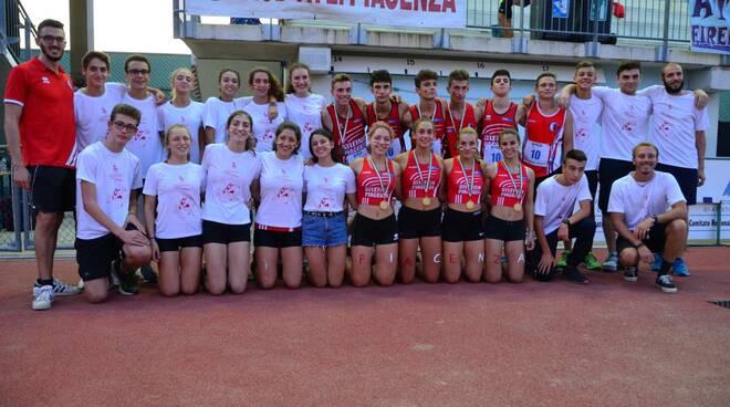 Atletica Piacenza - Campionati Nazionali di Società
