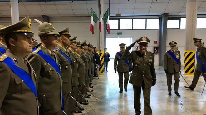 Cerimonia di avvicendamento del direttore dell'arsenale a Piacenza 2019