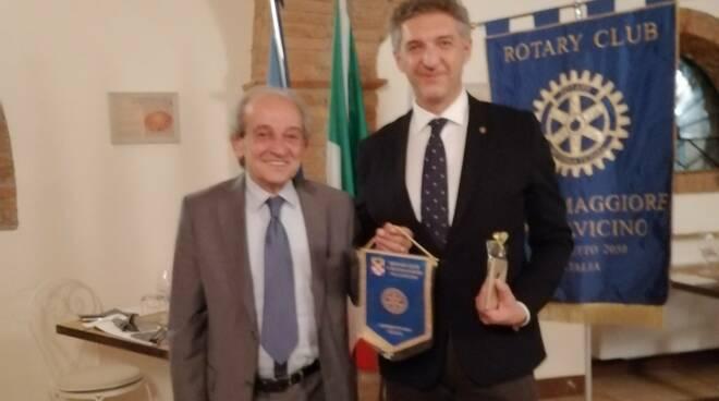 Conviviale Rotary Cortemaggiore Pallavicino con l'avvocato Reggiani