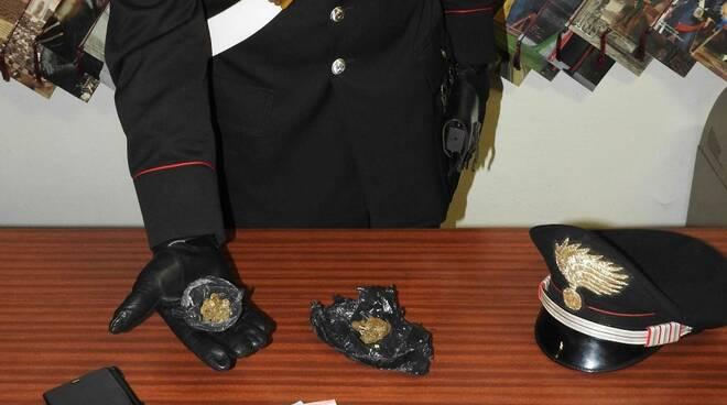 erba sequestrata dai carabinieri 2019