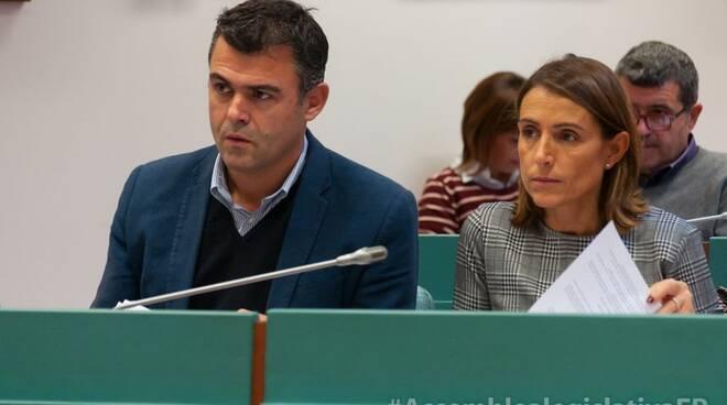 Gianluigi Molinari e Katia Tarasconi