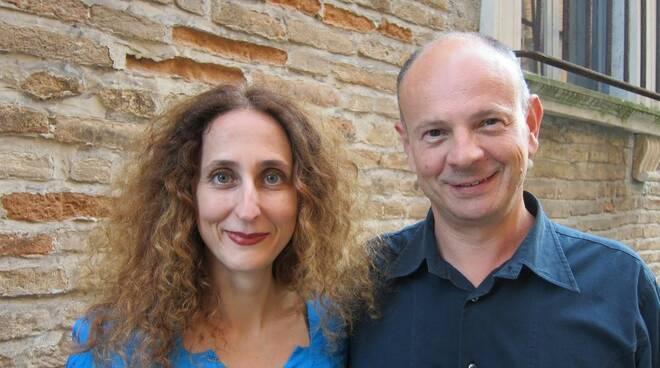Giovannimaria Perrucci e Daniela Nuzzoli