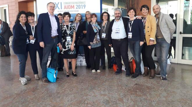 I professionisti piacentini al convegno Aiom a Roma