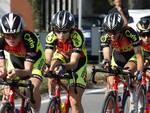 Il quartetto del Cadeo Carpaneto ai campionati italiani cronosquadre a Treviglio 2019; foto Rodella