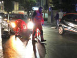 L'incidente in via Colombo