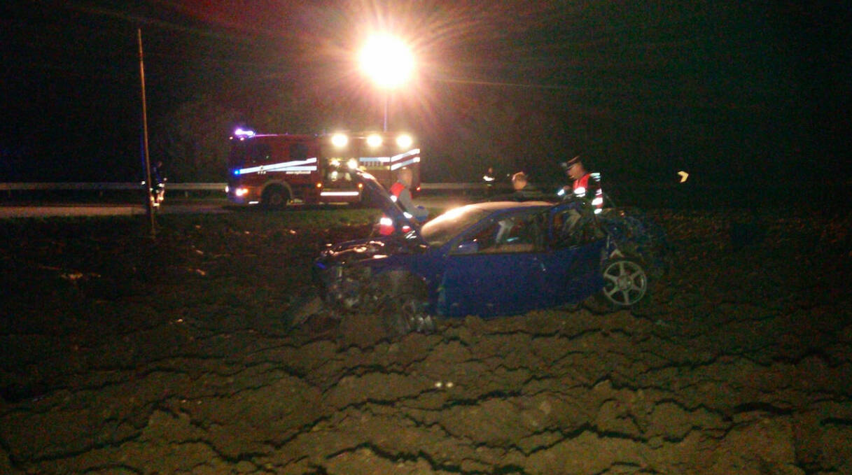 L'incidente mortale a Castellarquato
