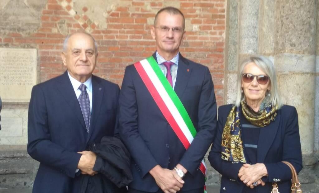 La commemorazione del disastro di Linate