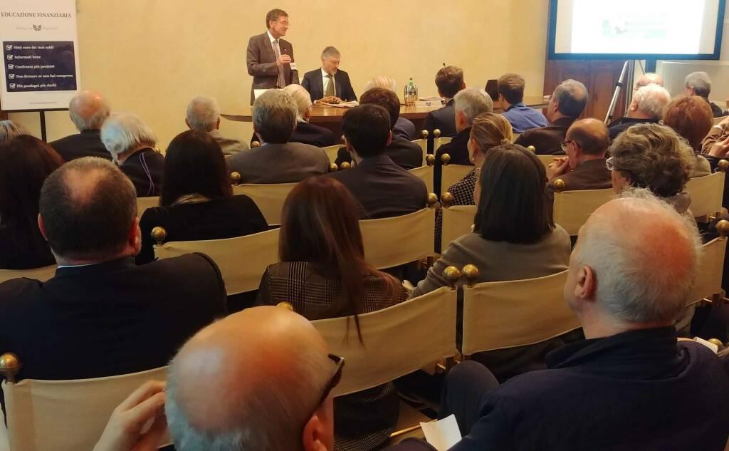 La conferenza di Gabriele Pinosa a Palazzo Galli