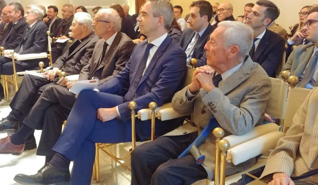 La conferenza di mons. Vezzoli a Palazzo Galli