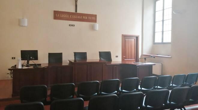 La Sala Colonne del Tribunale