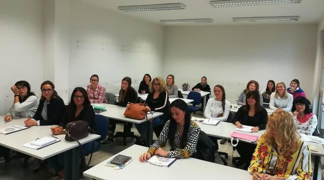 Le partecipanti al corso Irecoop