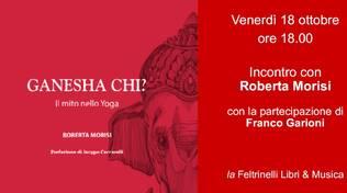 """Locandina libro """"Ganesha Chi?"""""""