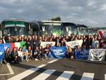 Manifestazione a Roma della Lega