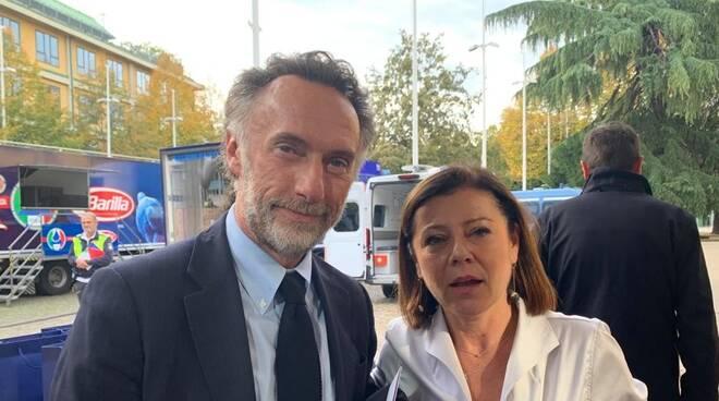 Meuccio Berselli e Paola de Micheli 2019