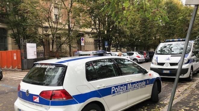 Polizia Municipale interviene in ospedale