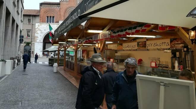Preparativi raduno alpini a Piacenza