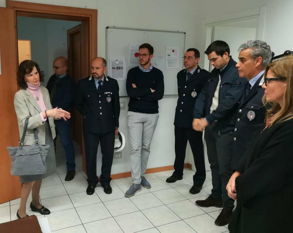Presentazione sede distaccata della Polizia Locale in via Capra 15