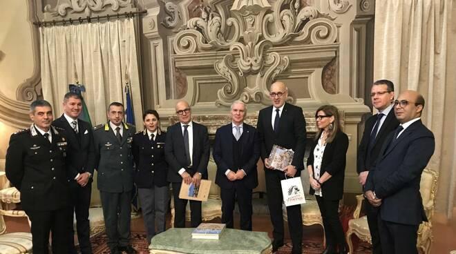 Ambasciatore di Tunisia in Italia in Prefettura a Piacenza