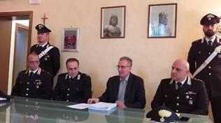 Carabinieri Procura Barone rosso