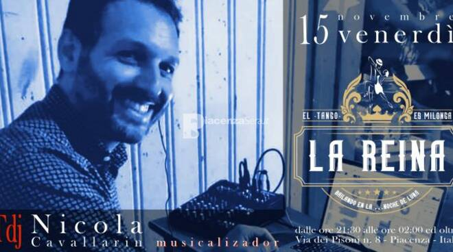 Milonga LA REINA - Grande serata di Tango Argentino