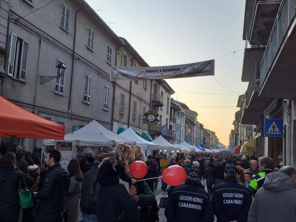 Cioccolandia edizione 2019 a Castelsangiovanni