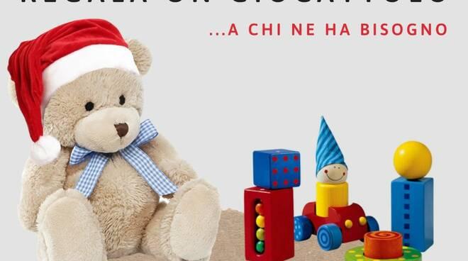 Donazione giocattoli