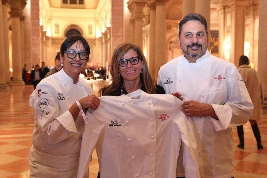 Gala dinner nella basilica di Sant'Agostino per la presentazione della Guida Michelin
