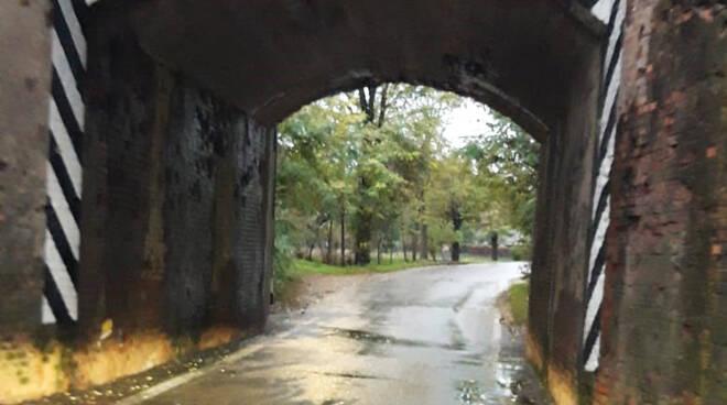 Il sottopasso di Borghetto