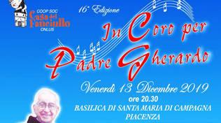 In coro per Padre Gherardo