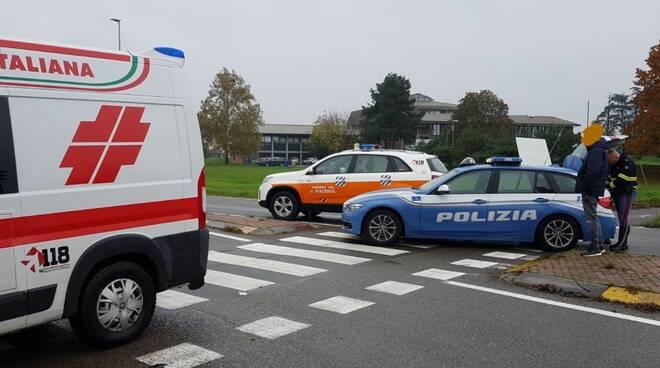 incidente sull'Agazzana