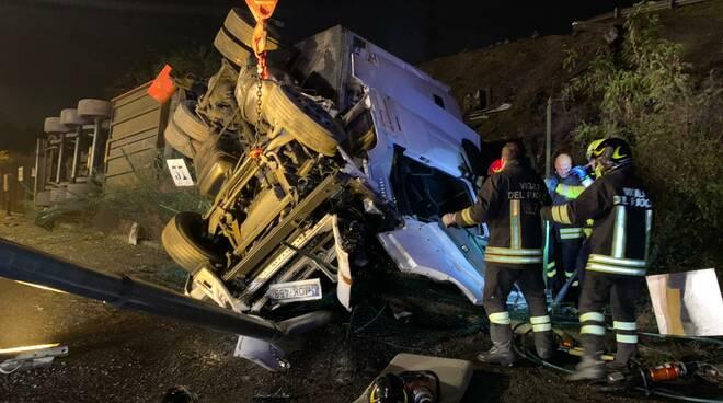 incidente Tir A21