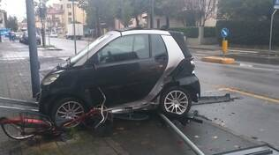 Incidente via Bianchi