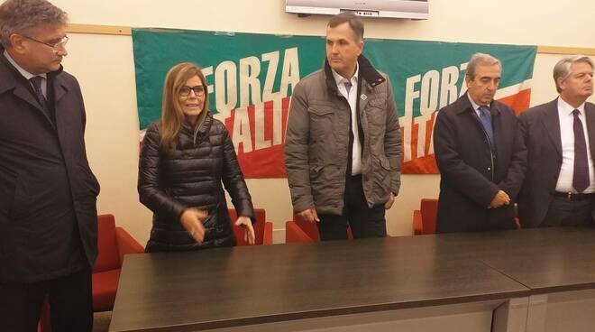Incontro regionali Forza Italia