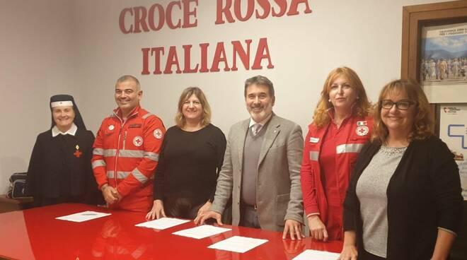 Iniziativa della Croce Rossa di Piacenza