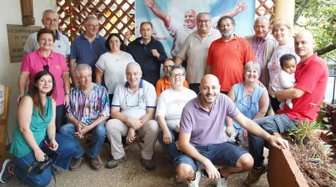 La delegazione di Africa Mission in Uganda