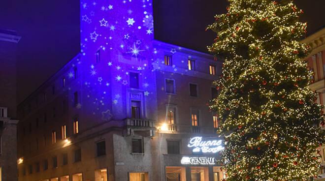 Le luci del Natale a Piacenza