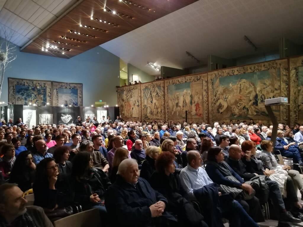 Luca Mercalli alla Galleria Alberoni